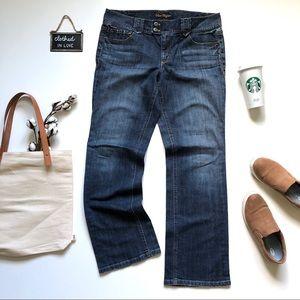Ann Taylor Modern Fit Bootcut Faded Denim Jeans